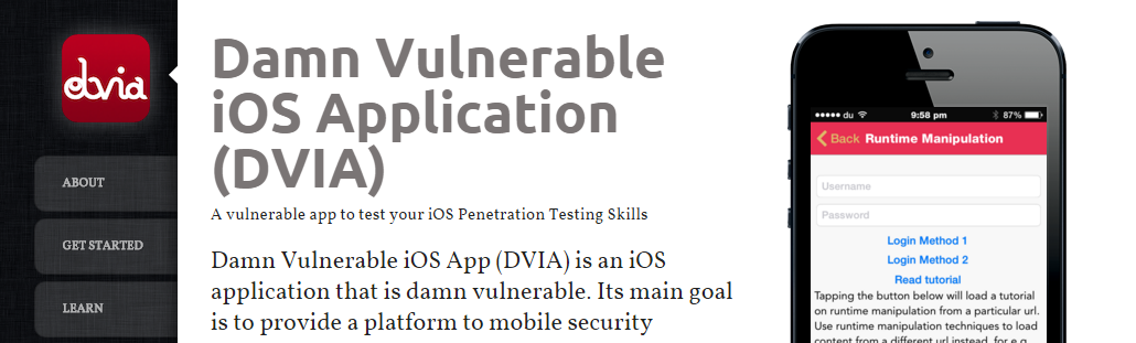 ios vulnerable app